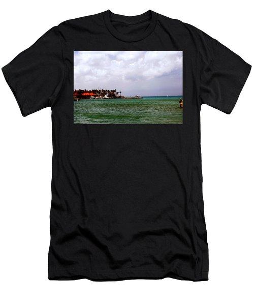 Island Harbor Men's T-Shirt (Athletic Fit)