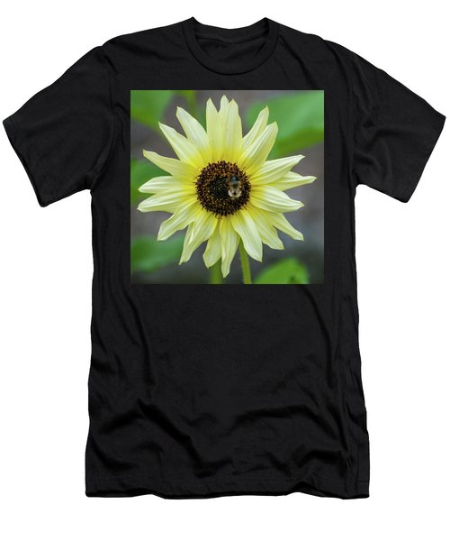Men's T-Shirt (Athletic Fit) featuring the photograph Italian Sunflower by Brenda Jacobs