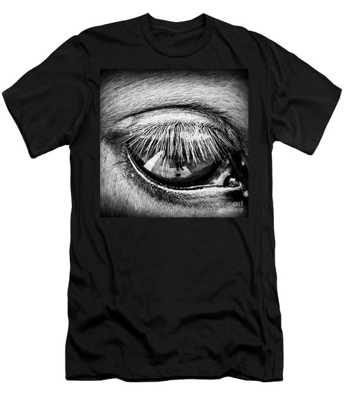 Just A Reflection  Men's T-Shirt (Athletic Fit)