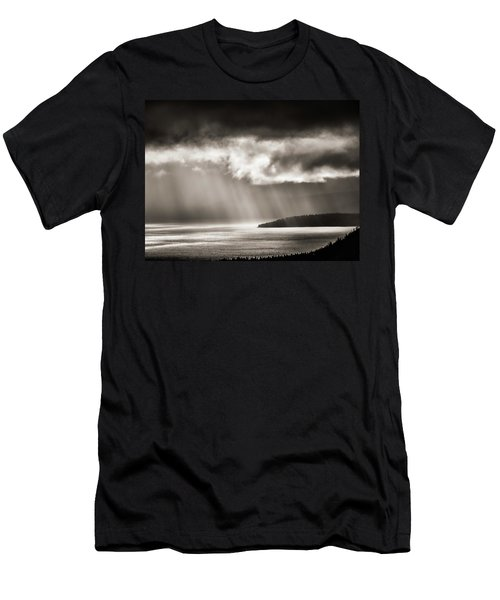 Lake Tahoe Storm Men's T-Shirt (Athletic Fit)