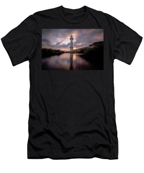 Lighthouse Men's T-Shirt (Athletic Fit)