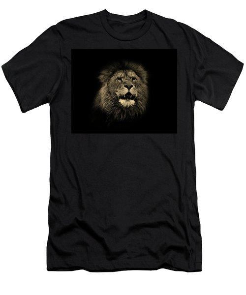 Lions Roar Men's T-Shirt (Athletic Fit)