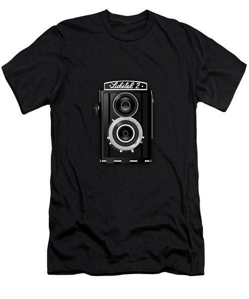Lubitel 2 Vintage Camera Collection Men's T-Shirt (Athletic Fit)