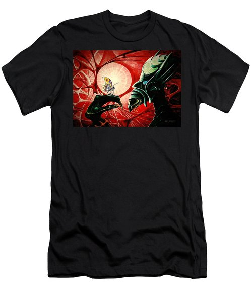 Lucifer  Men's T-Shirt (Athletic Fit)