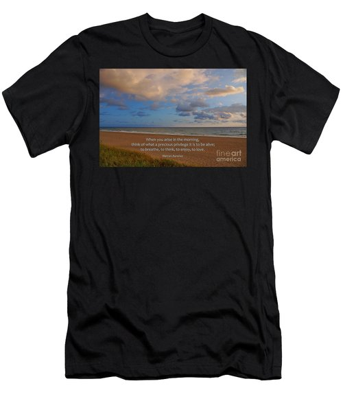2- Marcus Aurelius Men's T-Shirt (Athletic Fit)