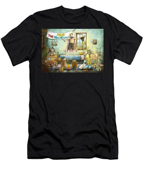 Mark The Magnificent Men's T-Shirt (Athletic Fit)
