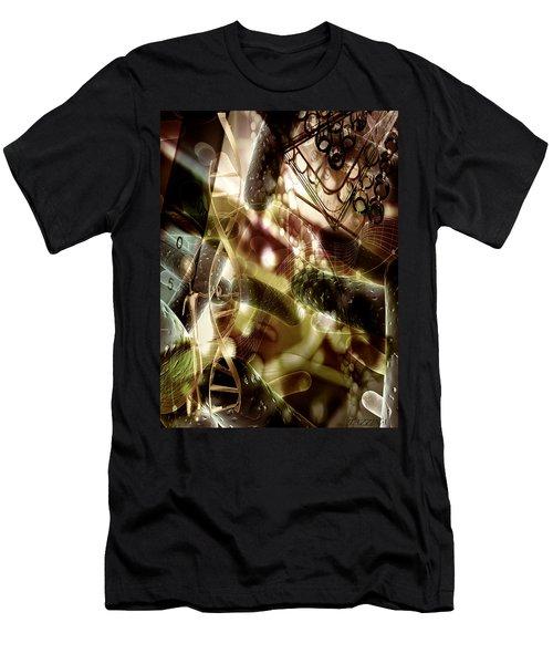 Men's T-Shirt (Slim Fit) featuring the digital art Medils Art by Danica Radman