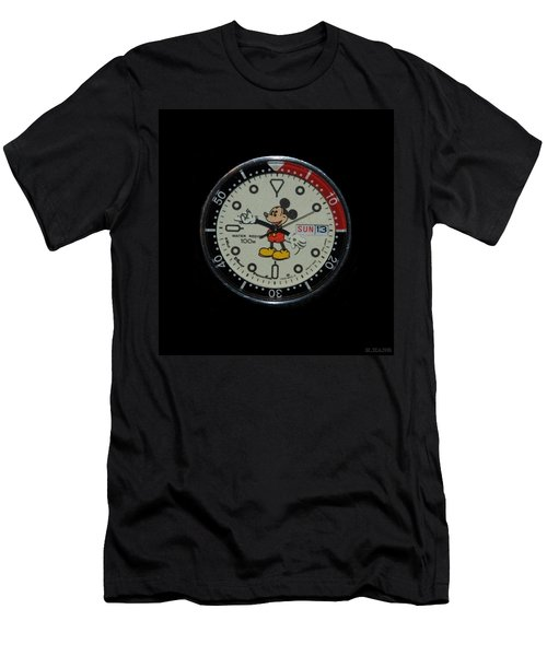 Mickey Mouse Watch Face Men's T-Shirt (Athletic Fit)