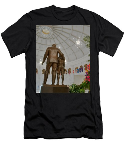 Milton Hershey And The Boy Men's T-Shirt (Athletic Fit)