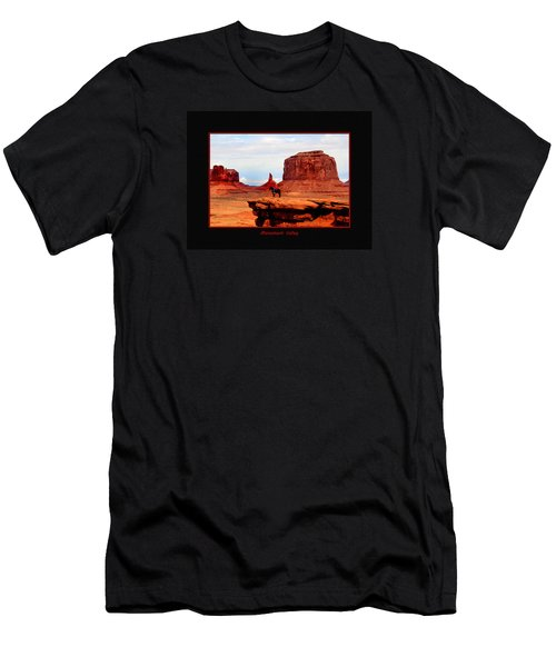 Men's T-Shirt (Slim Fit) featuring the photograph Monument Valley II by Tom Prendergast
