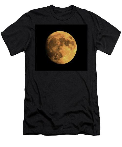 Moon Men's T-Shirt (Slim Fit) by Rowana Ray