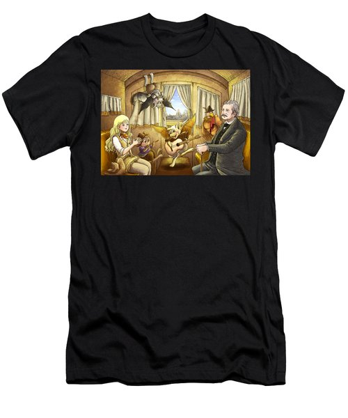 Ned Buntline Men's T-Shirt (Athletic Fit)
