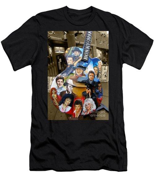 Nashville Honky Tonk Men's T-Shirt (Athletic Fit)