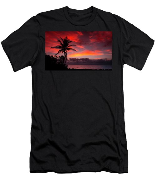 Oceanfront Sunrise Men's T-Shirt (Athletic Fit)