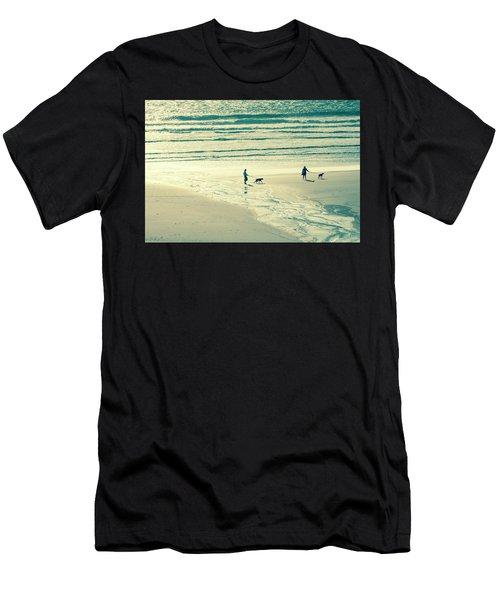 Oceanside Oregon Men's T-Shirt (Athletic Fit)