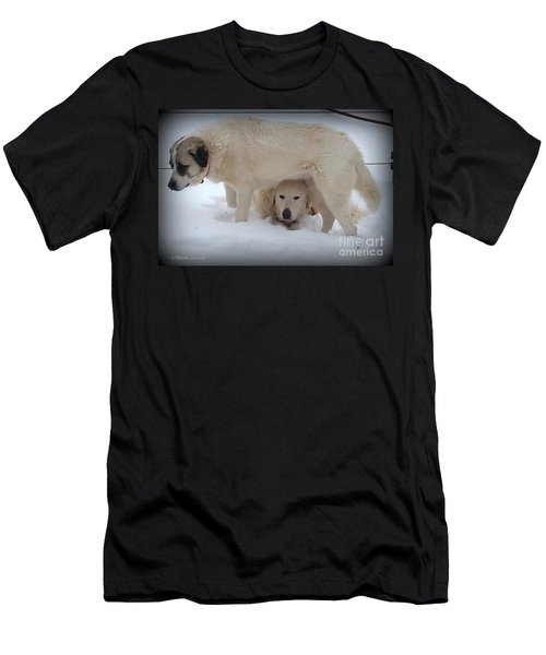 Peek A Boo Men's T-Shirt (Athletic Fit)