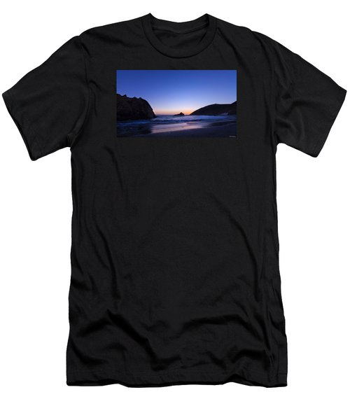 Pfeiffer Beach Men's T-Shirt (Athletic Fit)