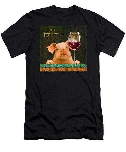 Pigot Noir... Men's T-Shirt (Athletic Fit)