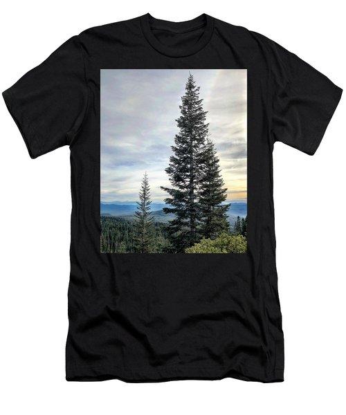 2 Pine Trees Men's T-Shirt (Athletic Fit)