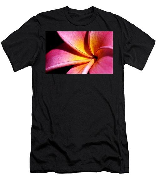 Plumeria Flower Men's T-Shirt (Slim Fit) by Werner Lehmann