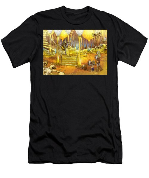 Queen Of The Hive Men's T-Shirt (Athletic Fit)
