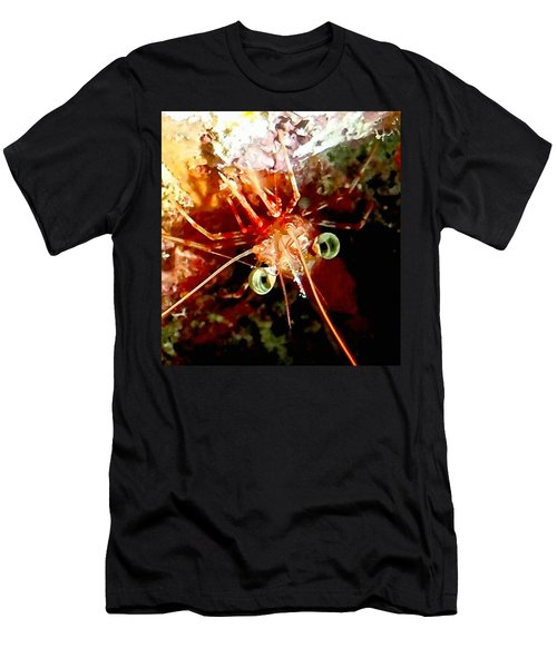 Red Night Shrimp Men's T-Shirt (Athletic Fit)