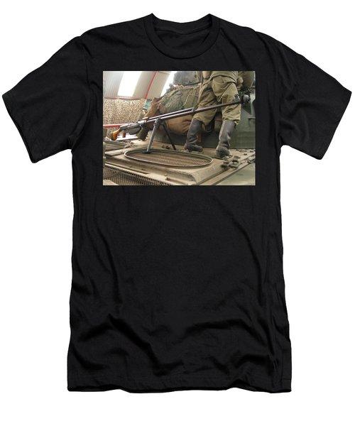 Rifle Men's T-Shirt (Athletic Fit)