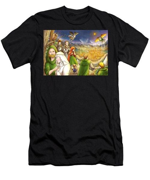 Robin Hood And Matilda Men's T-Shirt (Athletic Fit)