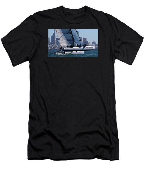 Rolex Big Boat Series Start Men's T-Shirt (Athletic Fit)