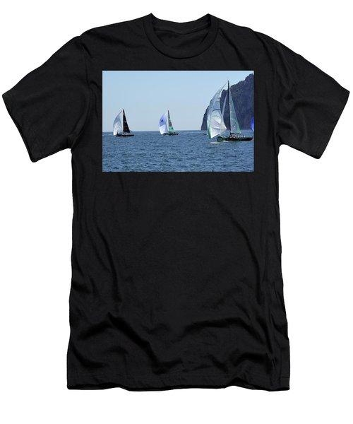 Rolex Capri Sailing Week 2014 Men's T-Shirt (Athletic Fit)