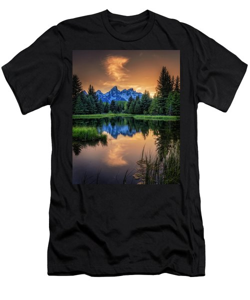Schwabacher's Ghost Men's T-Shirt (Athletic Fit)