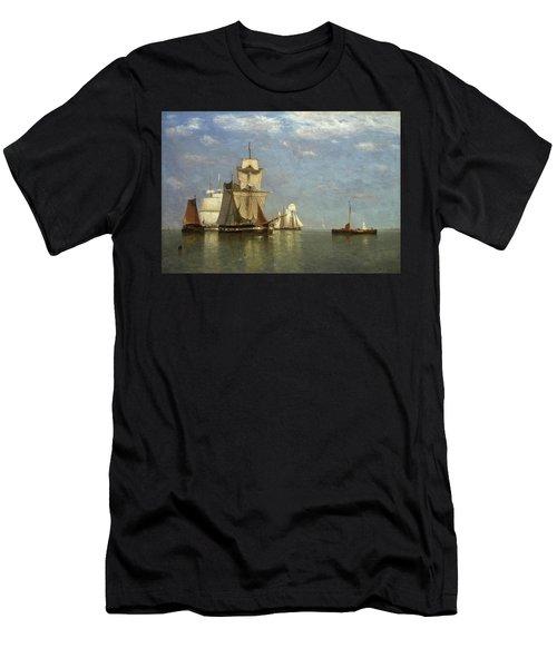 Ships Lying Off Flushing Men's T-Shirt (Athletic Fit)