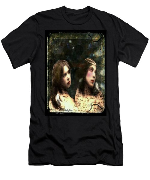 Two Sisters Men's T-Shirt (Athletic Fit)