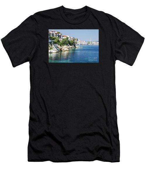 Skiathos Island, Greece Men's T-Shirt (Athletic Fit)