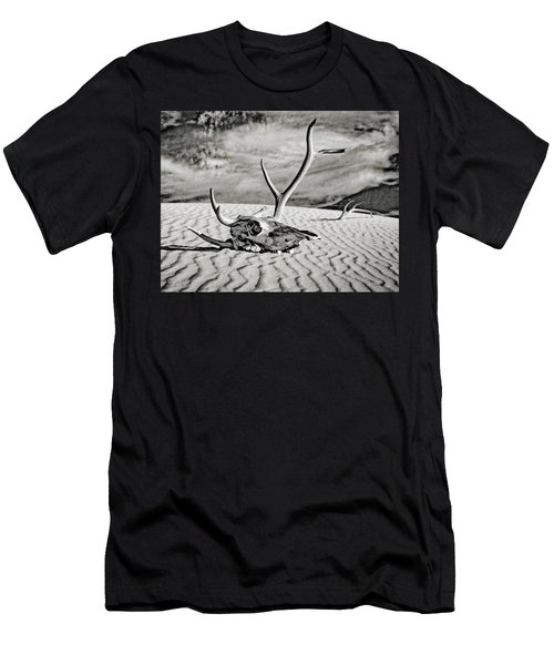 Skull And Antlers Men's T-Shirt (Athletic Fit)