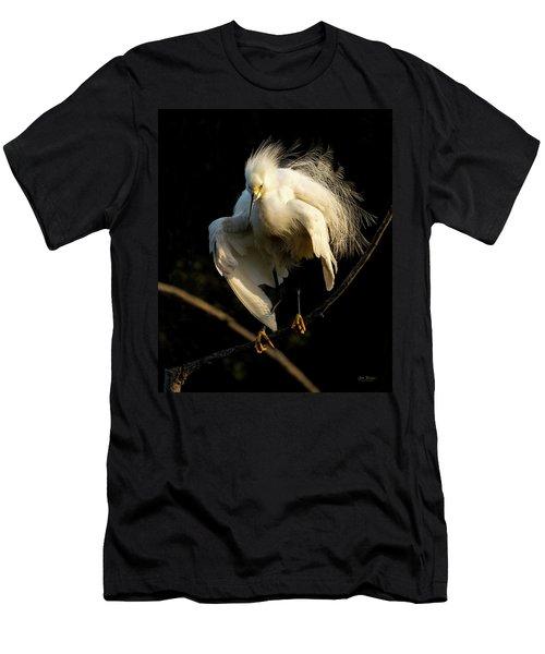 Snowy Beauty Men's T-Shirt (Athletic Fit)