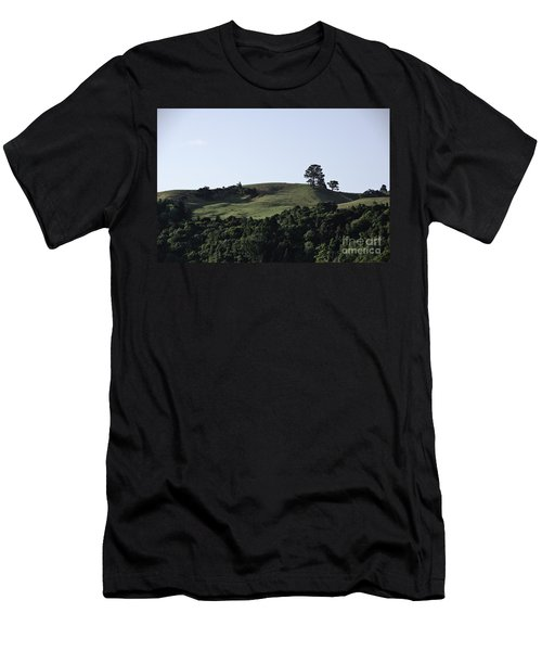 Somewhere In New Zealand Men's T-Shirt (Slim Fit) by Yurix Sardinelly