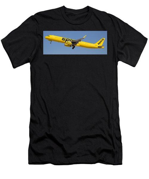 Spirit Airline Men's T-Shirt (Athletic Fit)
