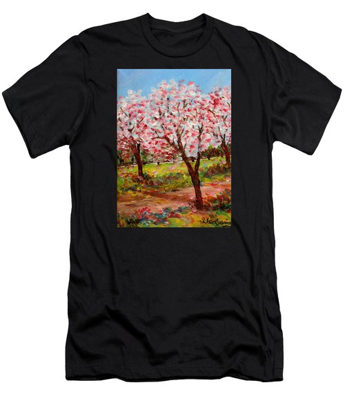 Spring Beauty  Men's T-Shirt (Athletic Fit)