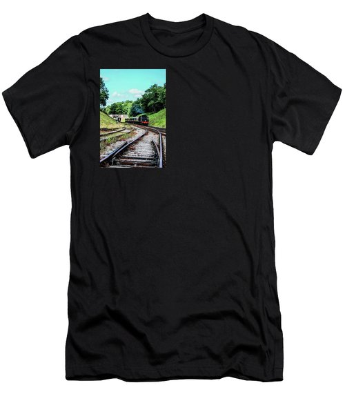 Steam Train Men's T-Shirt (Athletic Fit)