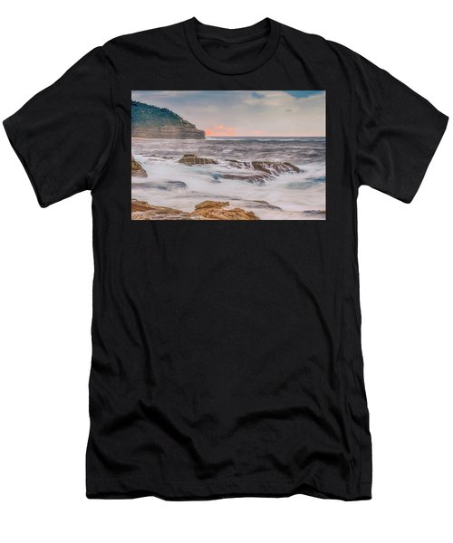 Sunrise Seascape And Headland Men's T-Shirt (Athletic Fit)