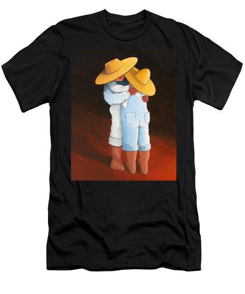 Sweet Embrace Men's T-Shirt (Athletic Fit)