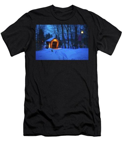 Tannery Hill Bridge Men's T-Shirt (Athletic Fit)