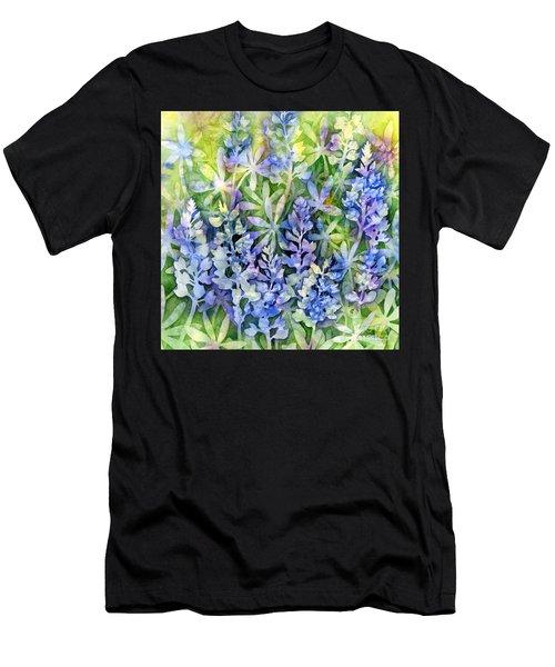 Texas Blues  Men's T-Shirt (Athletic Fit)