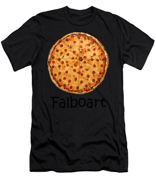 The Big Ass New York Pizza Men's T-Shirt (Athletic Fit)