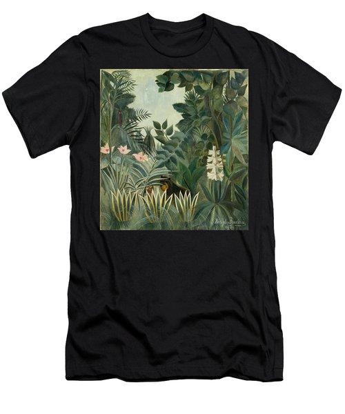 The Equatorial Jungle Men's T-Shirt (Athletic Fit)