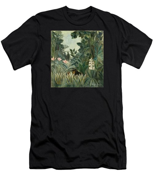 The Equatorial Jungle Men's T-Shirt (Athletic Fit)