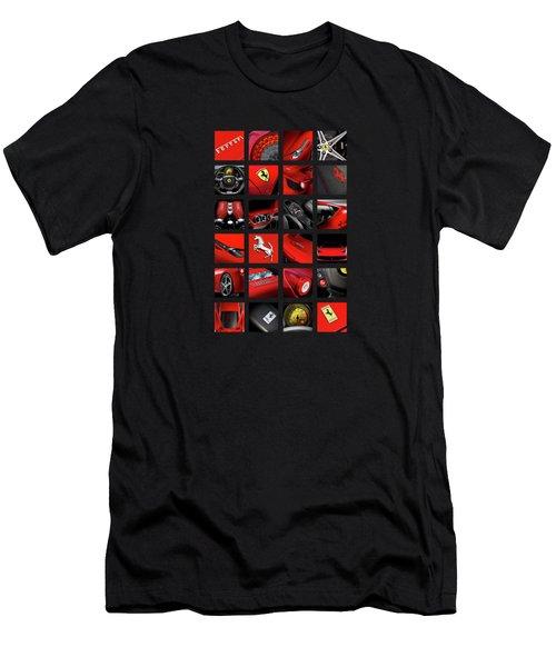 The Ferrari 458 Italia Men's T-Shirt (Athletic Fit)
