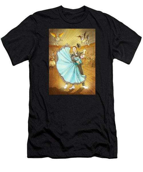 The Magic Dancing Shoes Men's T-Shirt (Athletic Fit)