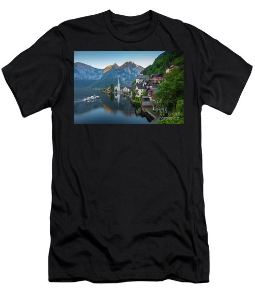 The Pearl Of Austria Men's T-Shirt (Slim Fit) by JR Photography